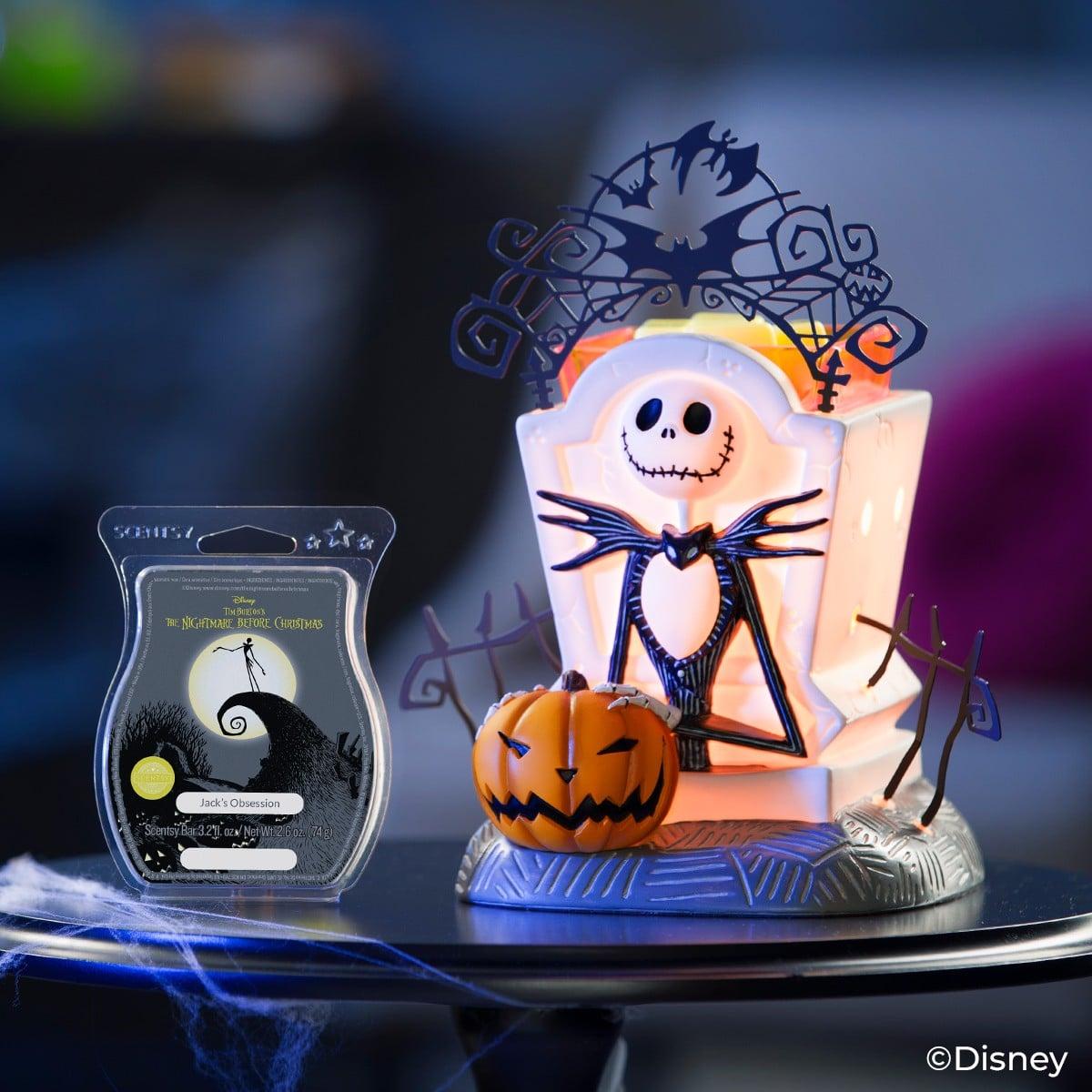 jack skellington candle warmer