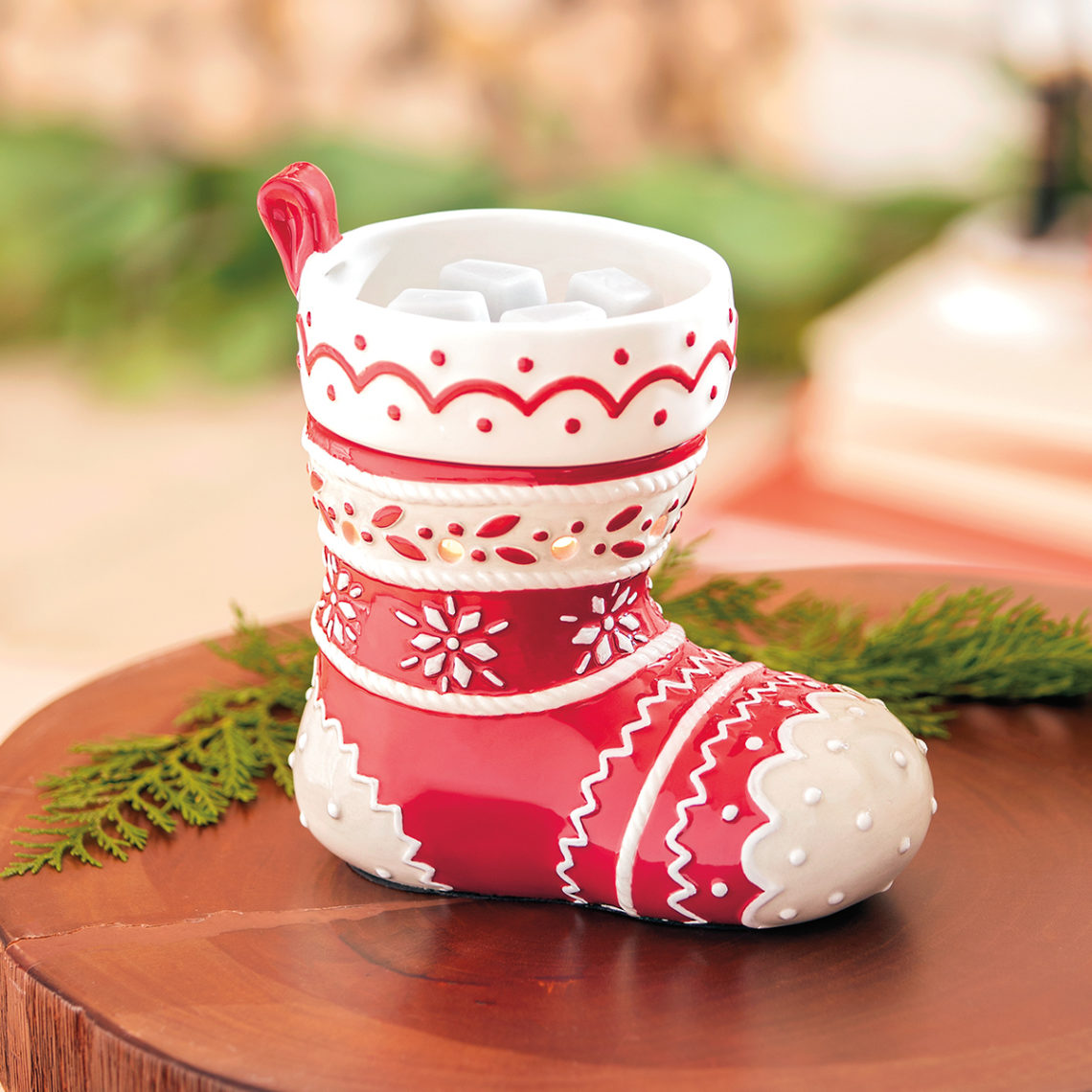 stocking scentsy warmer