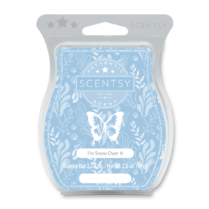 snow over it scentsy wax