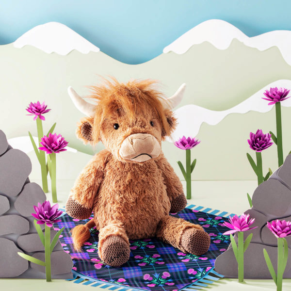 scentsy buddy hamish cow
