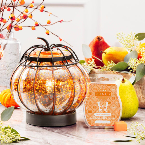 scentsy pumpkin enchanted