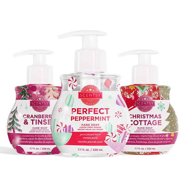 Scentsy Holiday Hand Soap Bundle