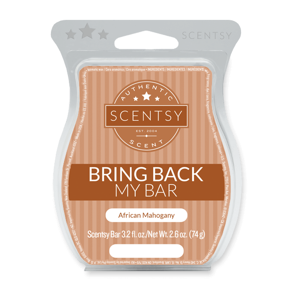 African Mohogany Scentsy Bar