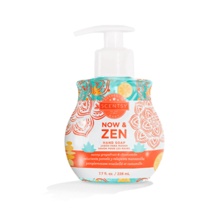 now & Zen hand soap by scentsy