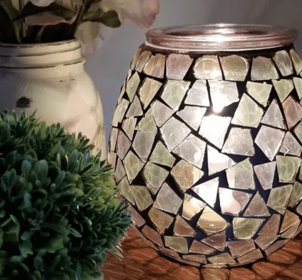 MENDED CANDLE WARMER SCENTSY