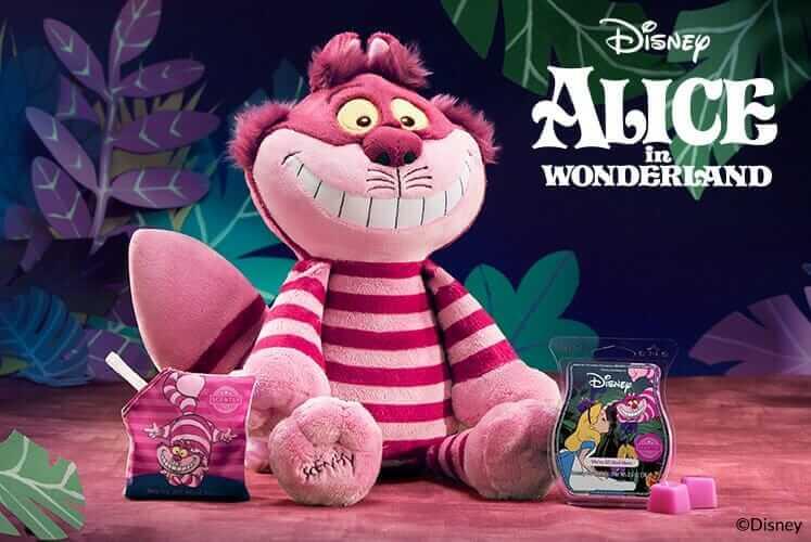 alice wonderland scentsy cat
