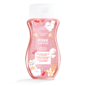PINK COTTON BODY WASH