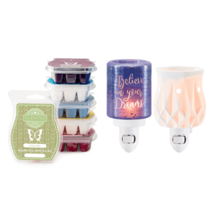 scentsy mini warmer bundle