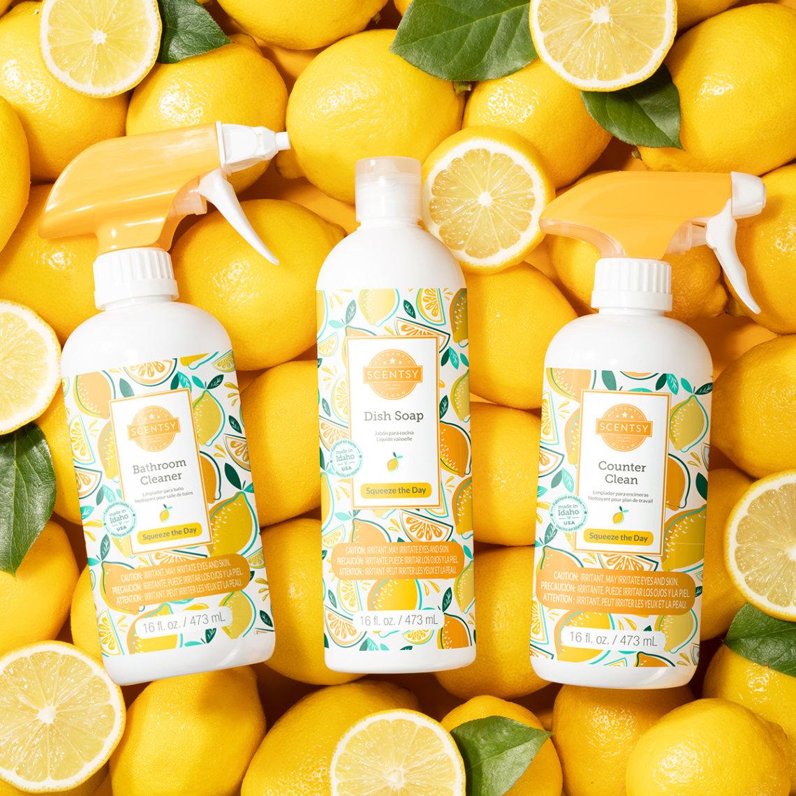lemon squeeze scentsy new