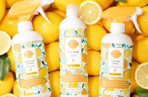 lemon squeeze scentsy new