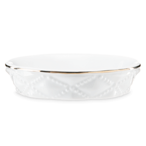 Diamond Milk Glass – DISH ONLY