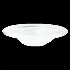 Large Glass Slump Dish with Logo