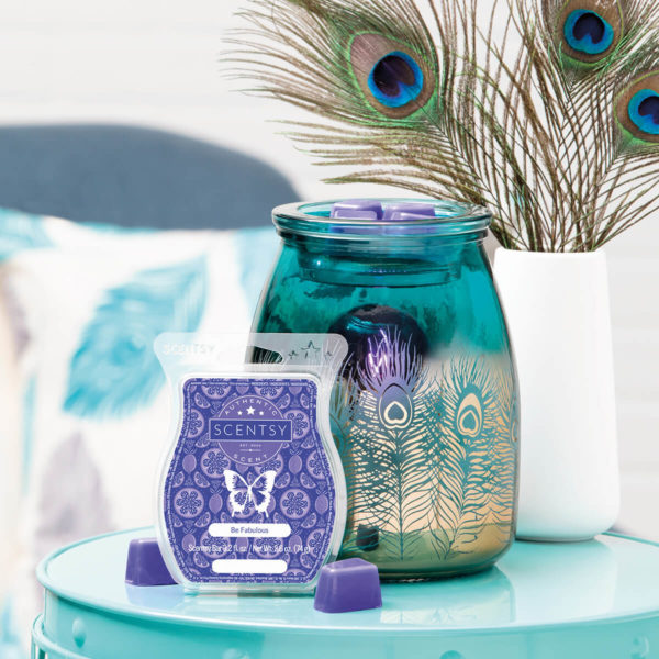Scentsy Peacock Warmer – Be Bold