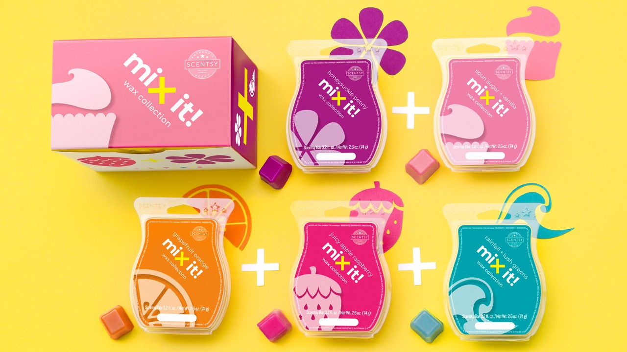 scentsy wax collection
