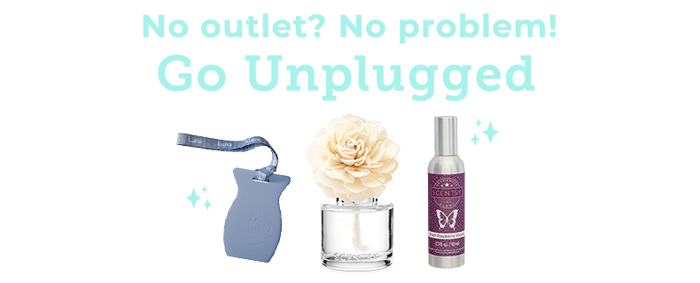 unplugged scentsy products