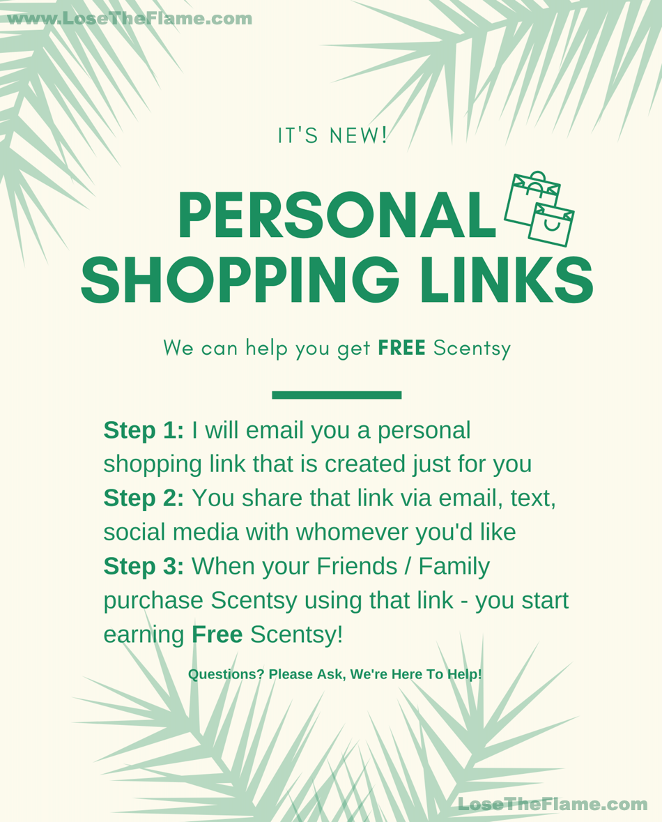 personal shopping free scentsy