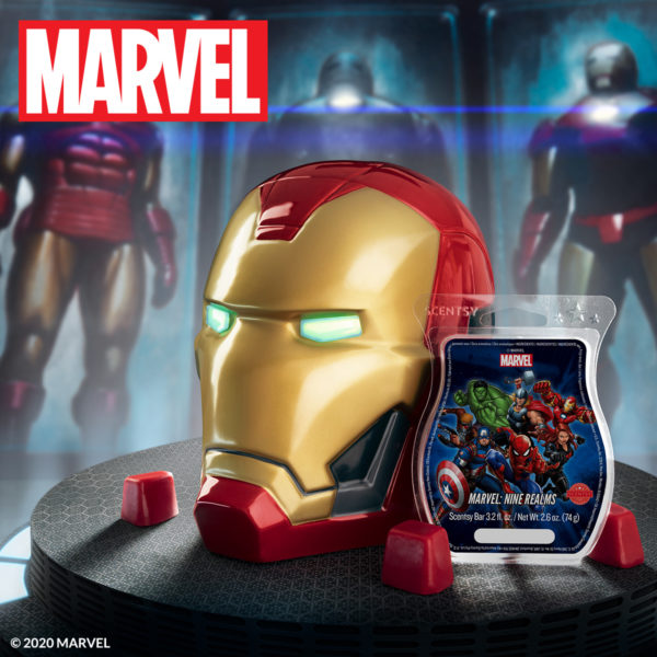 Iron Man Candle Warmer