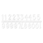 letterboard numbers