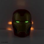 Scentsy Iron Man Candle Warmer