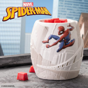 candle warmer for spiderman