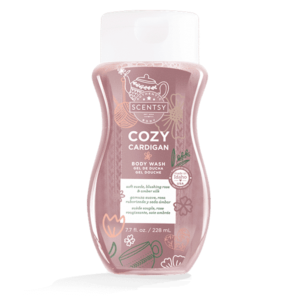 cardigan scentsy body wash