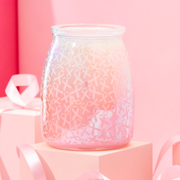 scentsy breast cancer warmer