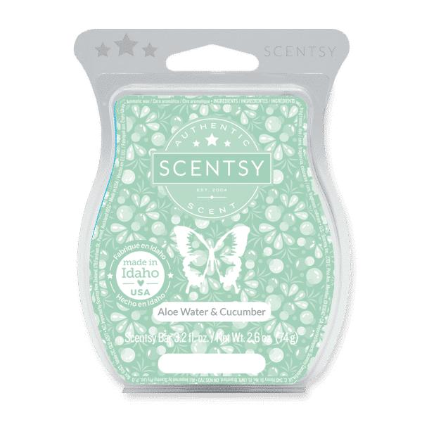 scentsy scent aloe water