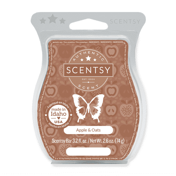 scentsy apple oats