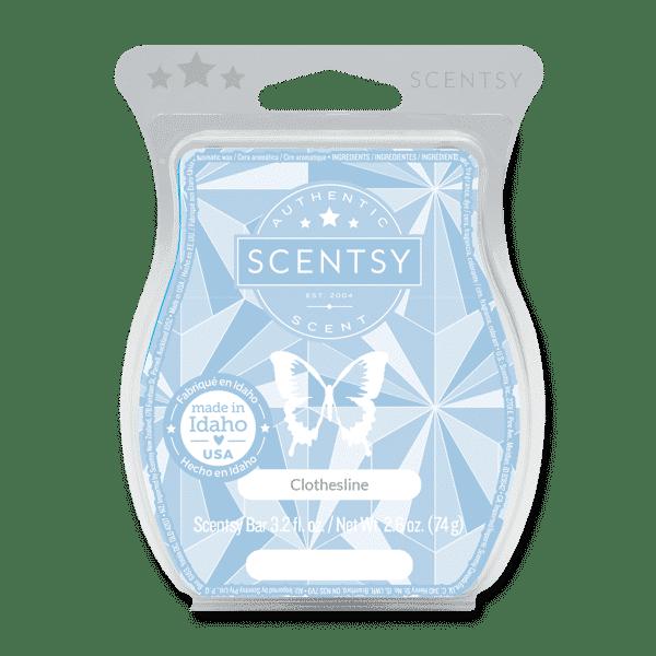 scentsy clothesline wax bar