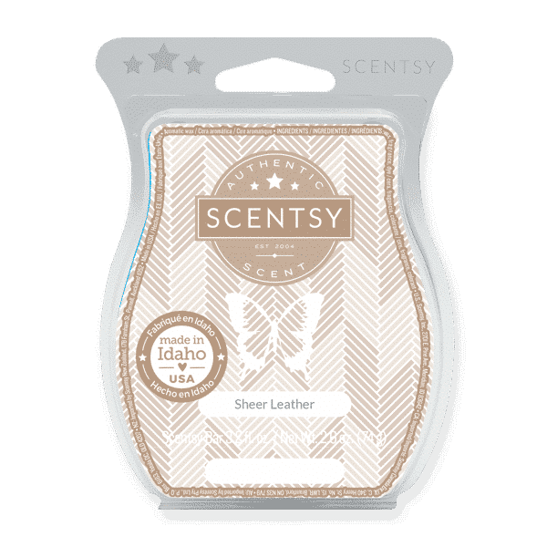 SCENTSY BAR SHEER LEATHER