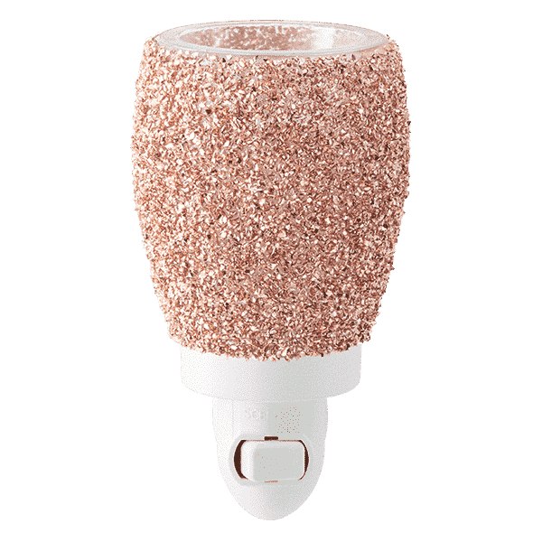 rose gold scentsy warmer plugin