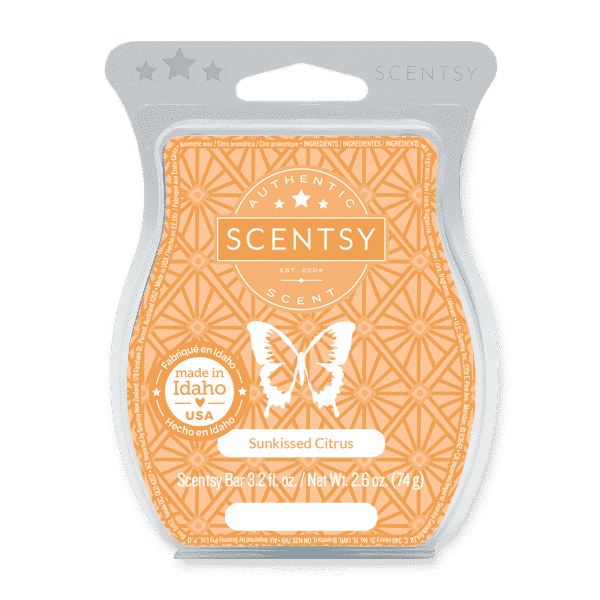 scentsy sunkissed citrus wax