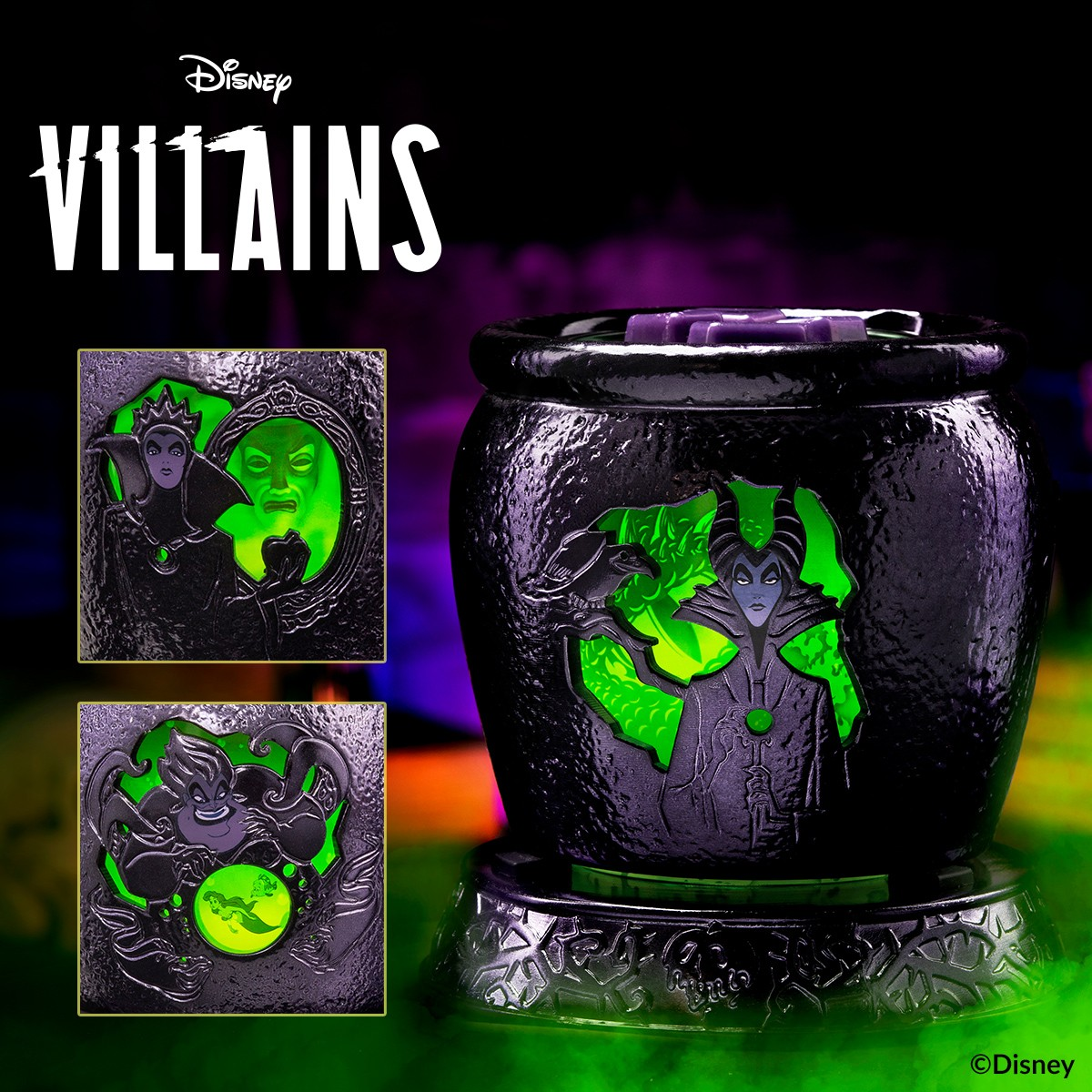 villains candle warmer