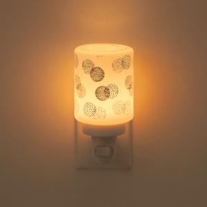 doting dot styled mini warmer