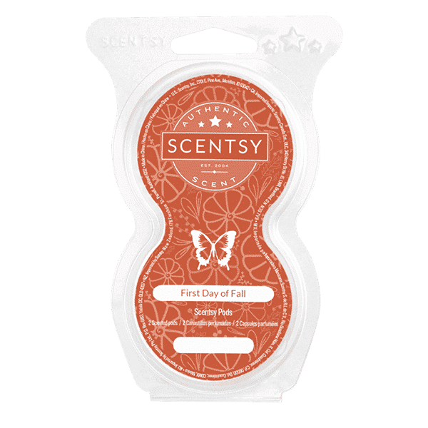 scentsy first day fall