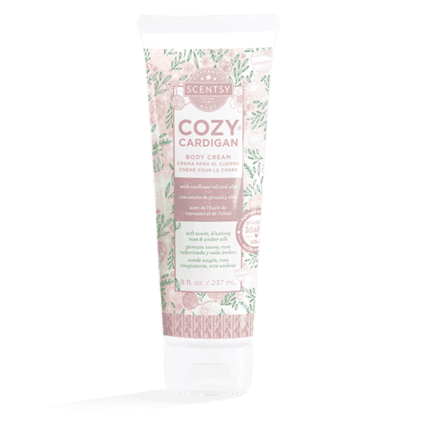 cardigan scentsy body cream