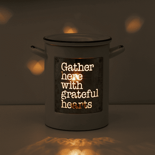 grateful hearts on warmer