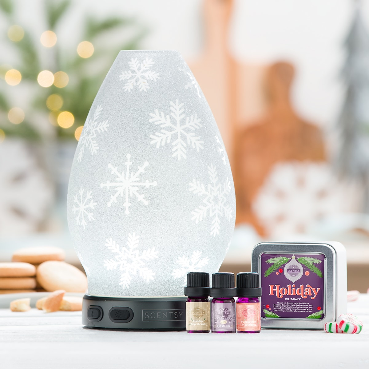 diffuser snowflakes for holidays