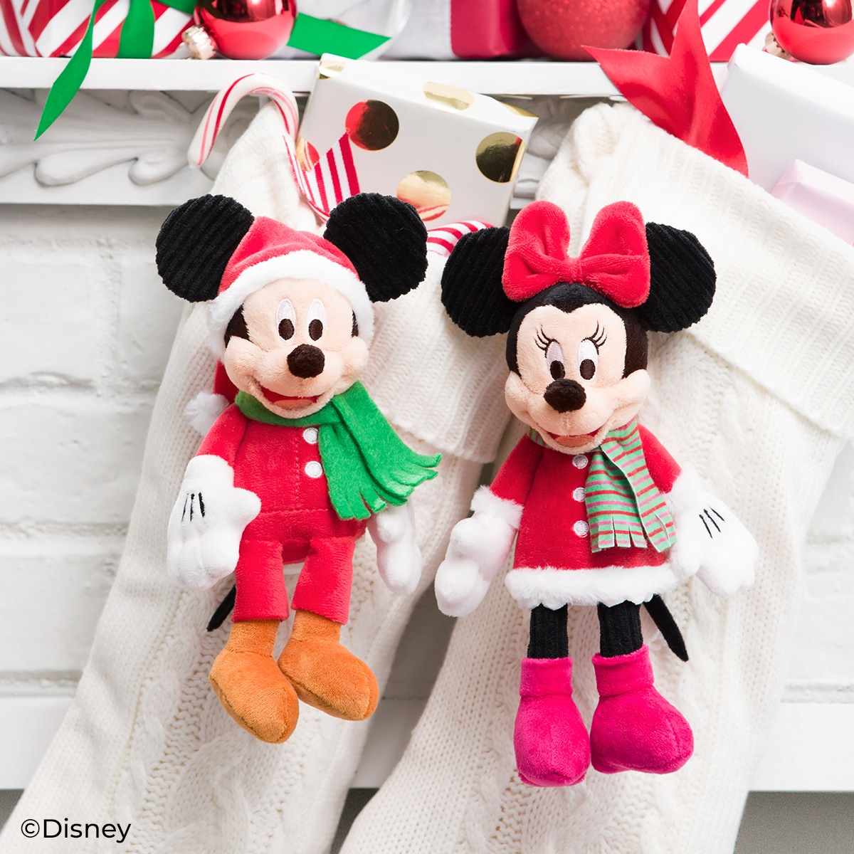 mickey minnie christmas buddies