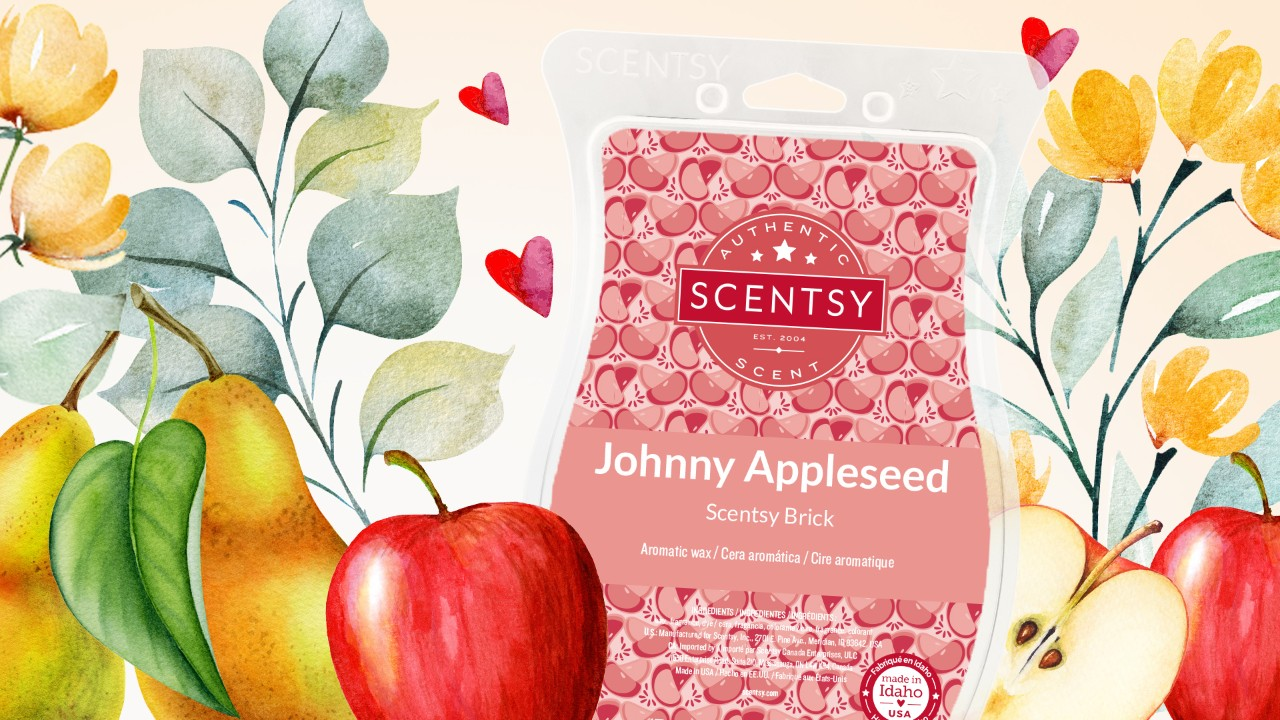 johnny appleseed wax brick