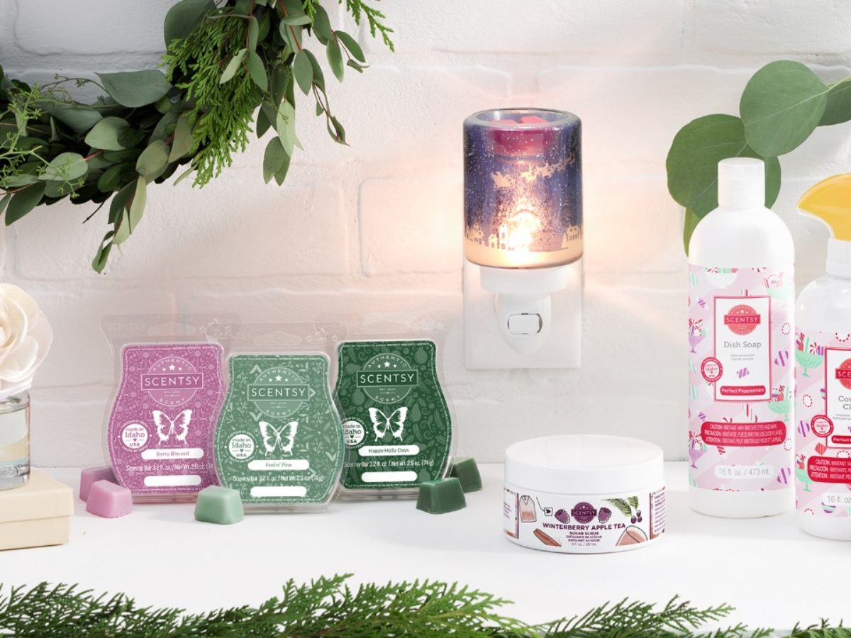 Scentsy Holiday Collection New Fragrances For 2020 Season