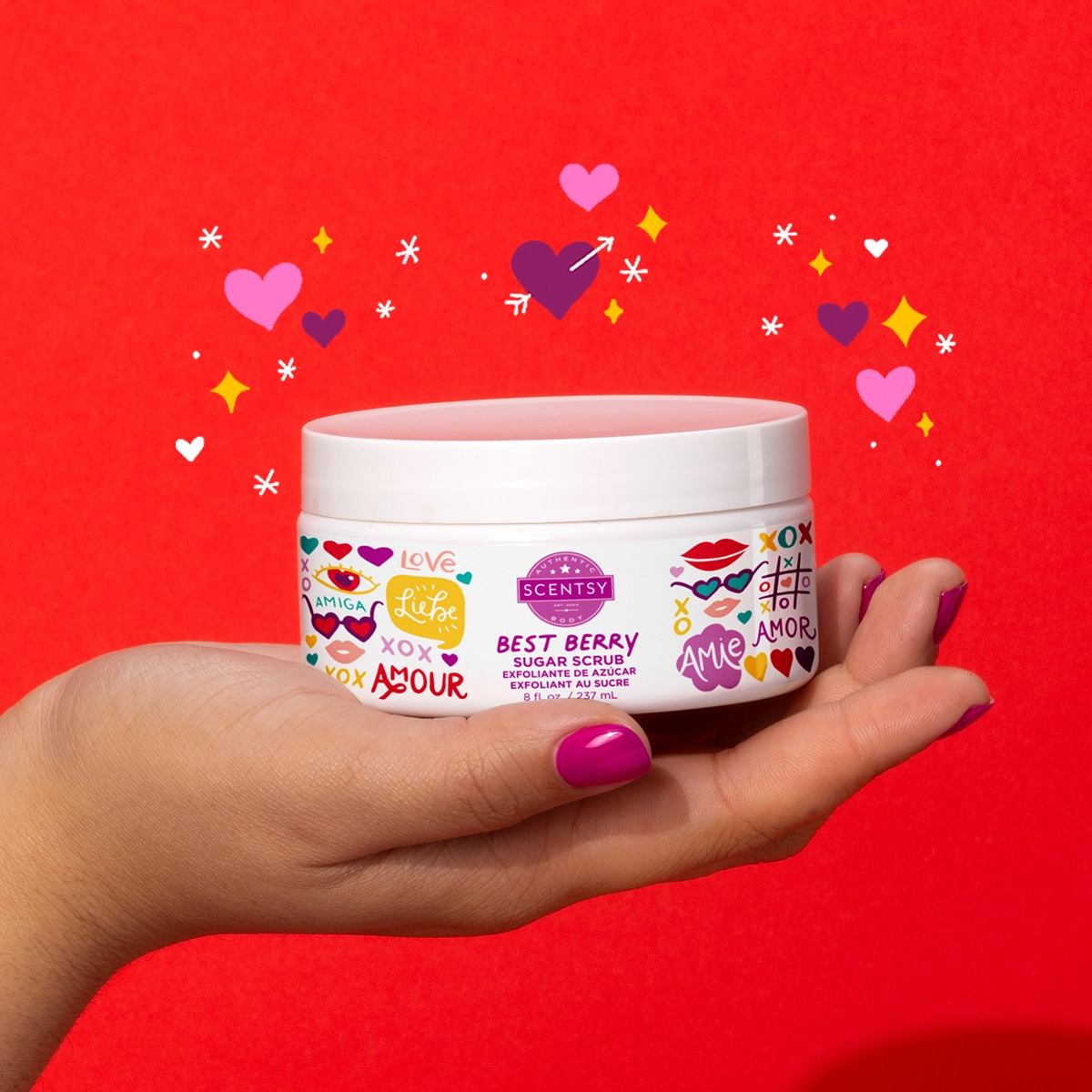 scentsy berry sugar scrub