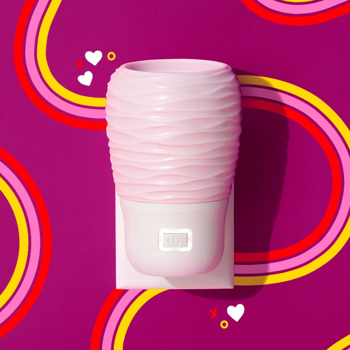 wall fan blush pink scentsy