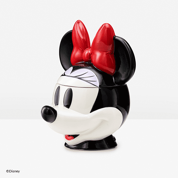 Minnie Mouse Scentsy Warmer Side View