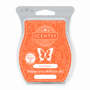 Coral Waters Scentsy Bar wax