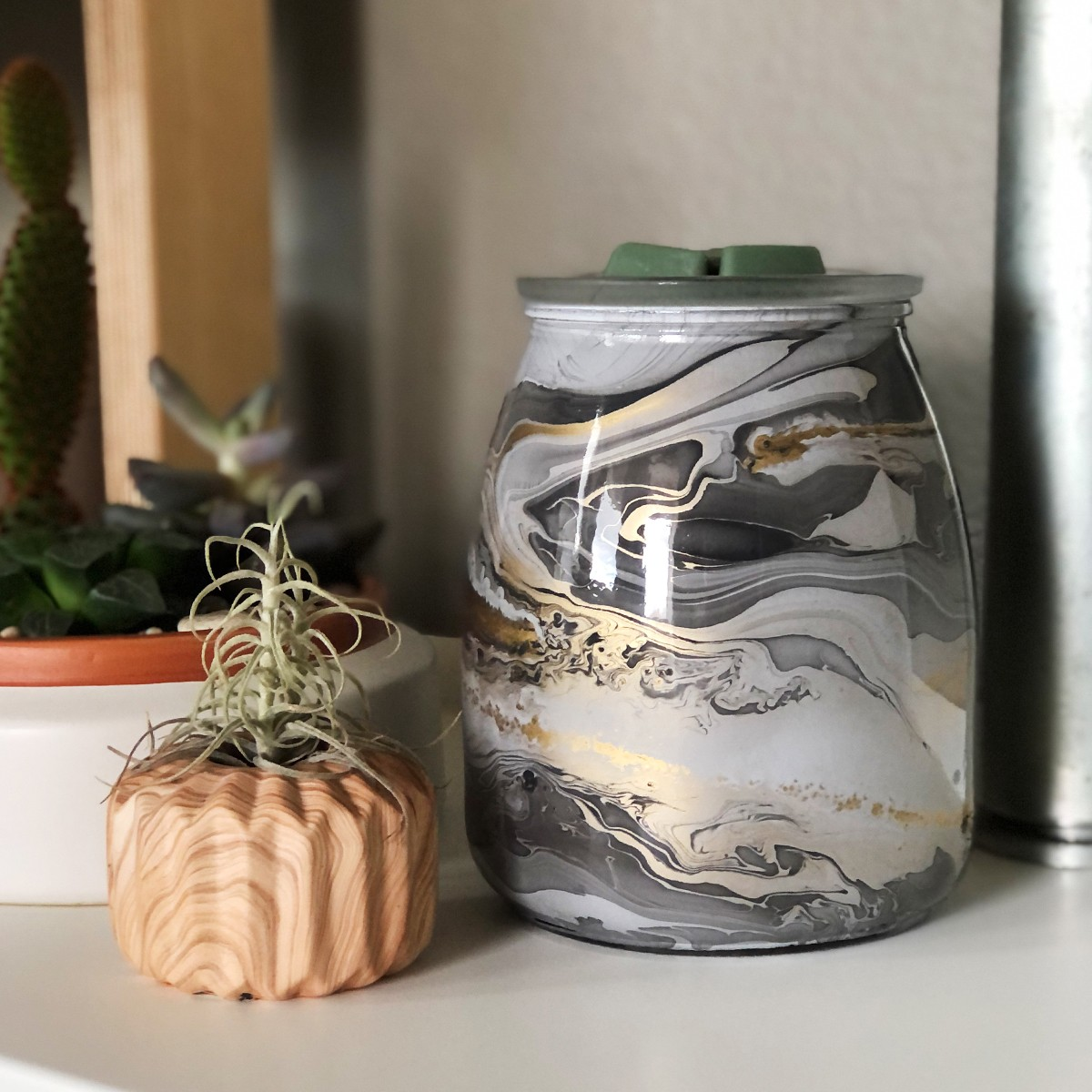 Scentsy Marble Candle Warmer