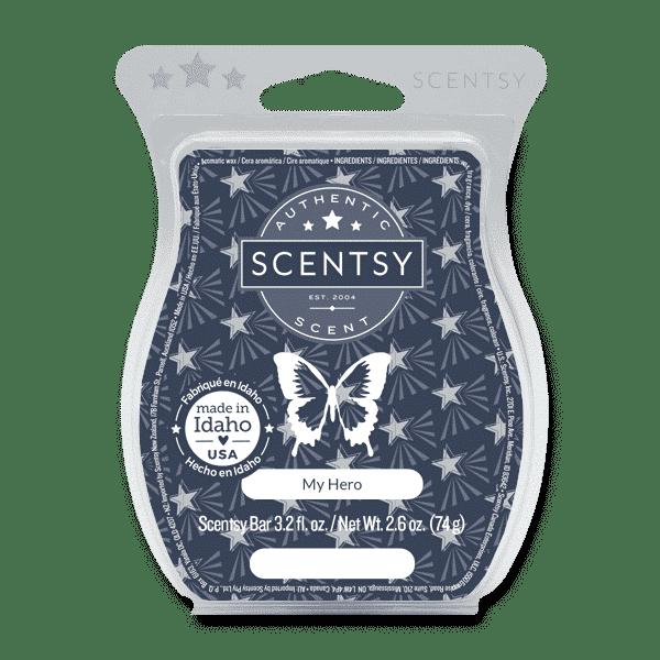 scentsy hero wax bar