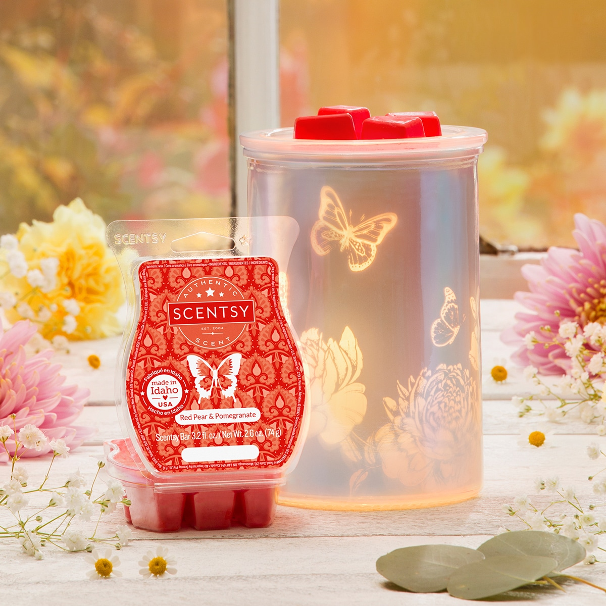 february warmer of the month scentsy