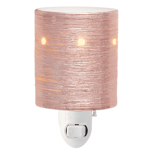 rose gold etched core warmer