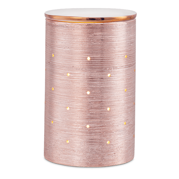 rose gold scentsy etched core
